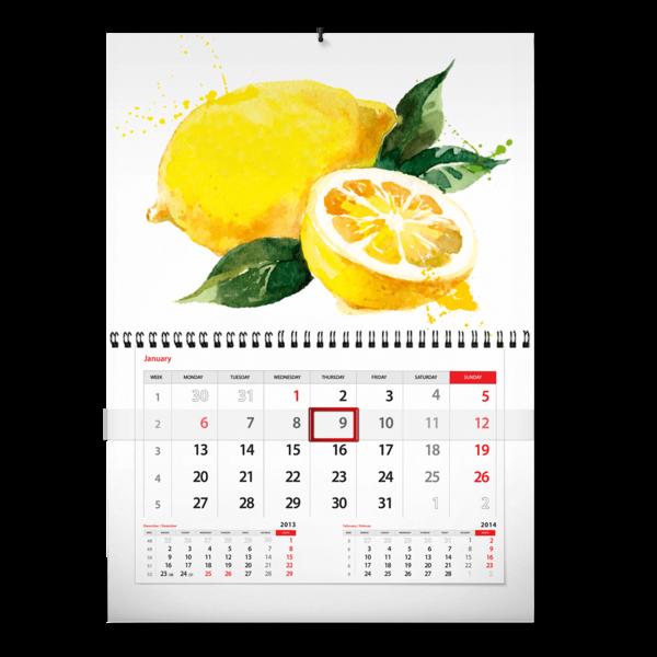 Календарь-моно