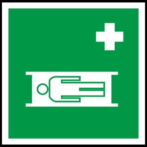 Знак EC-02 «Средства выноса (эвакуации) пораженных»_07502