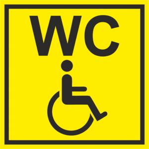 Знак «Туалет для инвалидов»_07724