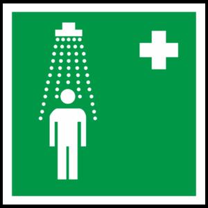 Знак EC-03 «Пункт приема гигиенических процедур (душевые)»_07503