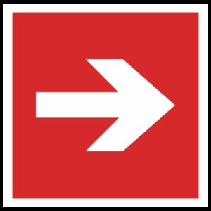 Знак F-01-01 «Направляющая стрелка»_04002
