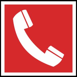 Знак F-05 «Место размещения телефона»_04006