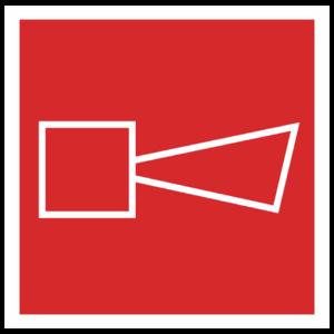 Знак F-11 «Звуковой оповещатель пожарной тревоги»_04012