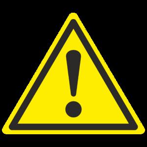 Знак  W-09 «Внимание. Опасность (прочие опасности)»_07009
