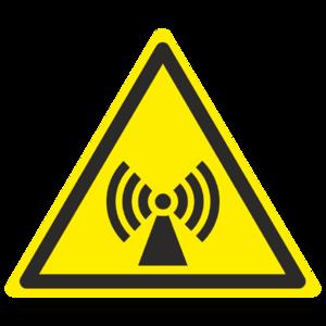 Знак W-12 «Внимание. Электромагнитное поле»_07012