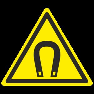 Знак W-13 «Внимание. Магнитное поле»_07013