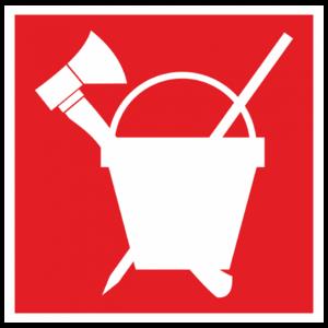 Знак «Пожарный инвентарь»_04013