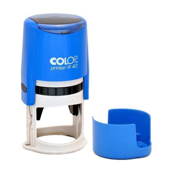 Colop Printer R40 Cover Автоматическая оснастка для печати с защитной крышечкой (диаметр печати 40 мм)
