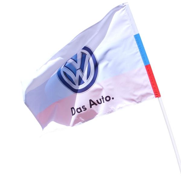 Флаг с логотипом