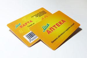 Пластиковая карта (штрих-код)